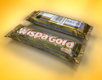 3d model cadbury wispa bar