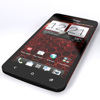 3d model htc droid dna
