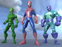 maya characters spiderman