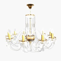 chandelier andrea small 3d 3ds