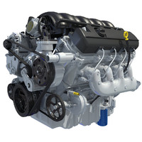 3d 3ds 2014 chevrolet silverado v8 engine