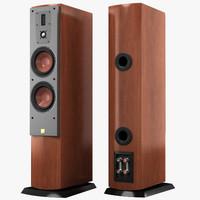 3d max dali mentor 6 speaker