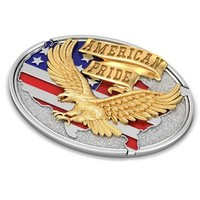 american eagle relief 3d model