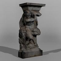 Dresden Statue Pan 06