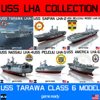 USS LHA Tarawa Class Collection