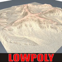 3d mountain maps terrain