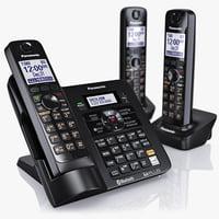 panasonic cordless telephone kx-tg7644m 3d max