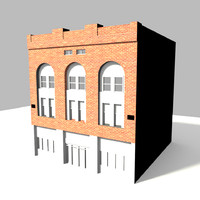 free 3ds mode building modeled texturing