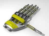 robot hand obj free