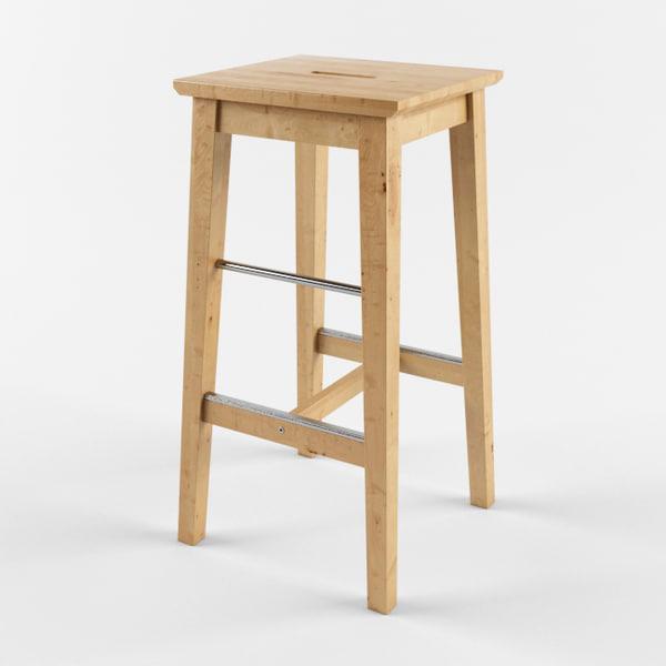 3d Ikea Bar Stool Ikea Bar Stools By Ikushnir