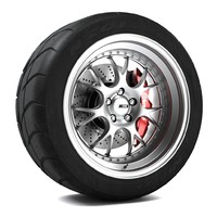 ssr ms3 wheel 3d obj
