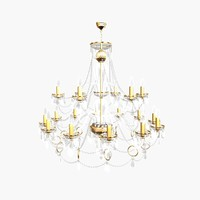 chandelier andrea big 3d max