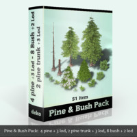 Pines & Bushes