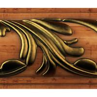 3d decorative ad358-0040 carving model