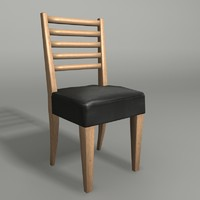 3d stride chair model