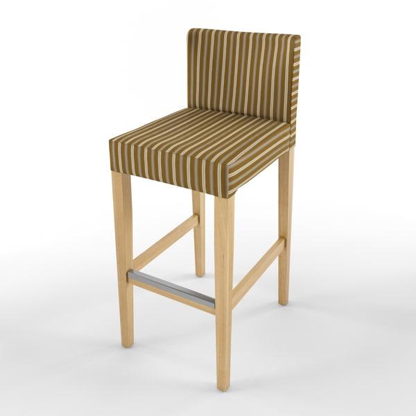 3d ikea bar stool IKEA Bar stools by ikushnir : strippedoakjpg803940c8 c356 4d06 84ad 38f5c437f709Large from www.turbosquid.com size 600 x 600 jpeg 25kB