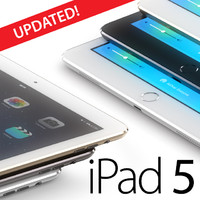 ipad 5 updated apple 3d model