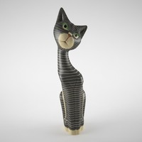 cat figurine max