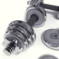 3d dumbbells weights exercise model