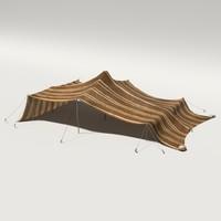 3dsmax berber tent