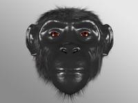 obj ape head