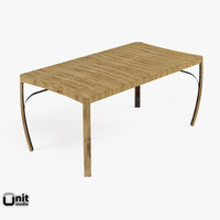 stave table 3d max