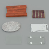 3d model chopping boards