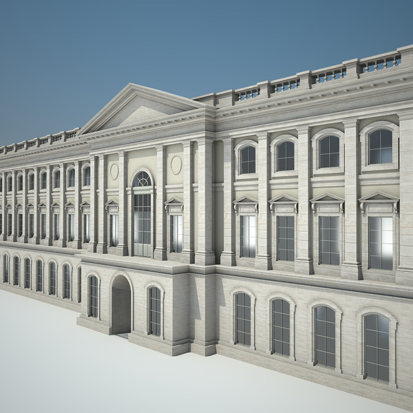 palace classical style building max