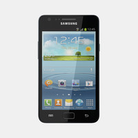 3d samsung i9105 galaxy s model