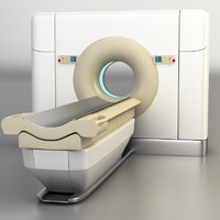 building philips ct brilliance 3d model