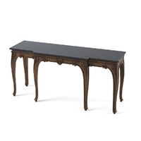 3d model traditional console table