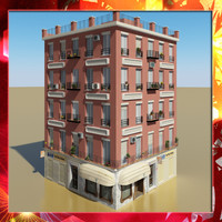 3d model photorealistic building 12