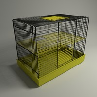 3ds max hamster cage