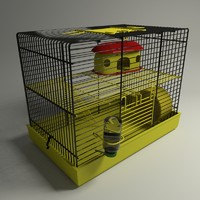 hamster cage 3d max