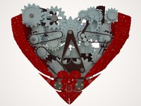 3dsmax parts heart