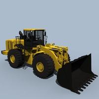 3d hl780-7a type loader model