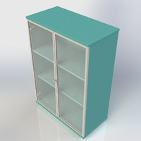 cabinet furniture office 3d max