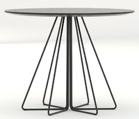 Knoll small round Paperclip table