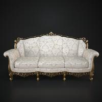 cechov sofa 3d model