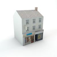 Lowpoly shop