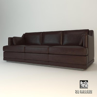baker hollywood sofa 3d max