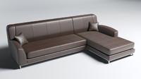 Detailed Modern Sofa