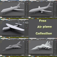 3d max Airplane collection