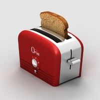 toaster design kitchen 3d model