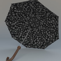 3ds umbrella rain