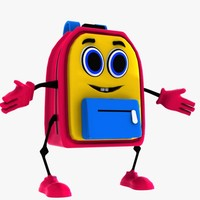 maya bag character school