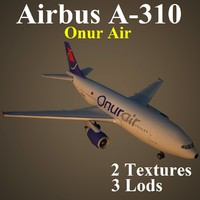 airbus ohy 3d max