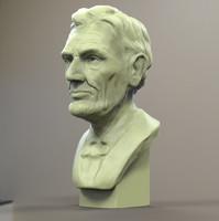 Printable Abraham Lincoln Bust