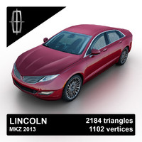 3ds max 2013 mkz sedan