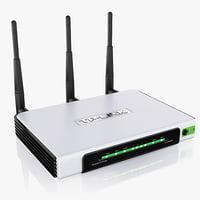 3d model router tp-link tl-wr940n